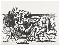 elements by philip guston