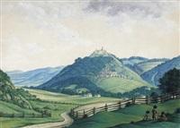 schloß pitten in niederösterreich by hans heideloff