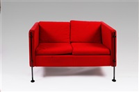 divano 2 posti modello felix by burkhard vogtherr