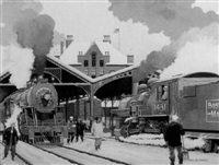 railroad station, concord, new hampshire by arch mcdonnell