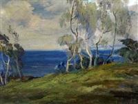 coastal landscape by jean j. pfister
