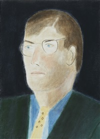portrait of miles by craigie aitchison