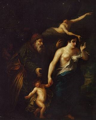 the dismissal of hagar by gerbrand van den eeckhout
