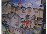 kitzbühel by wilhelm von hillern-flinsch