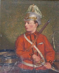 a soldier of the queen by walter tomlinson