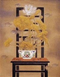 瓶花 荷 (water lilies) by liu mingxiao