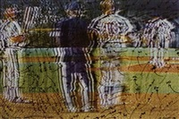 video drawing, the baseball series by howardena pindell