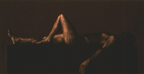 reclining figure by ahmad zakii anwar