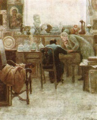 the antique dealer by cesare vianello