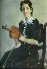 la violoniste by valentine petchatine