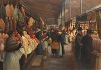 la halle baltard, le marché des volailles couvert by alphie iker