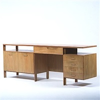 desk by bertrand goldberg