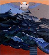 hokusai (from sarjasta sake) by juha soisalo