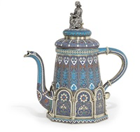 coffee pot by antip ivanovich kuzmichev