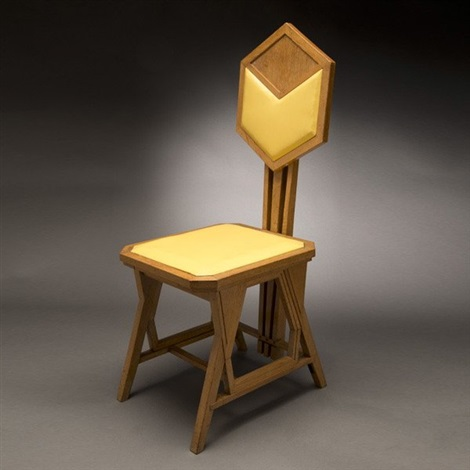side chair by frank lloyd wright