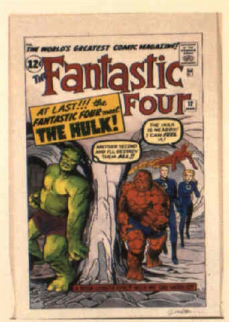 fantastic four no12 by dick ayers