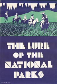 the lure of the national parks by dorothy waugh