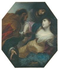 sophonisba erhält das gift von massinissa by simone pignoni