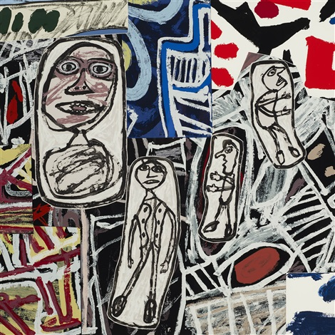 faits memorables ii by jean dubuffet