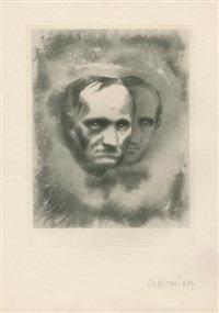 illustrations pour les fleurs du mal de baudelaire (11 works) by alexandre alexeieff