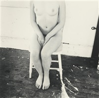 untitled (self-portrait, providence, rhode island) by francesca woodman