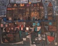 scene de tauromachie by constantin ubeda