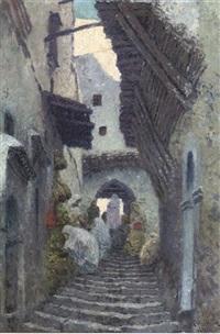 street sellers on an algiers backstreet by karl hofmann
