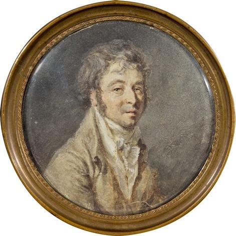 portrait présumé de pierre bontemps by jean baptiste greuze