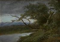 paesaggio con ruscello by francesco capuano