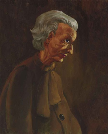 the grandmother by john currin