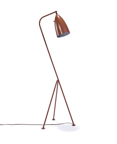 tripod floor lamp model 831 by greta magnusson grossman