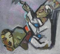 figuren-komposition by wilhelm von hillern-flinsch