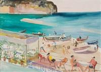 spiaggia ad ischia by mario cortiello