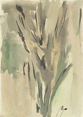 untitled from the trees series by sohrab sepehri