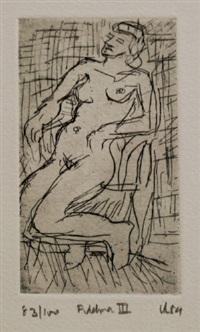 fidelma iii by leon kossoff