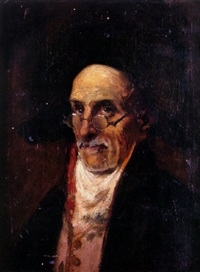 retrato de letrado by marceliano santamaria y sedano