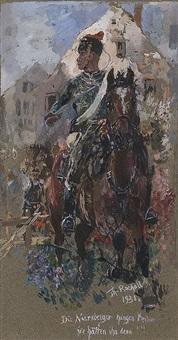 horseman by theodor rocholl