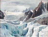 le glacier du géant et l'aiguille du requin, salanches by angelo abrate