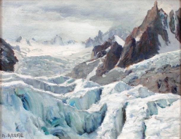 le glacier du géant et laiguille du requin salanches by angelo abrate