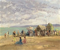 a la playa by eugenio alvarez dumont