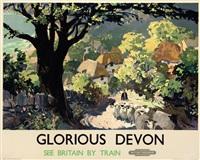 glorious devon by leslie arthur wilcox