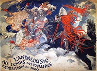 l'andalousie au temps des maures, exposition de 1900 (in 2 parts) by eugène grasset