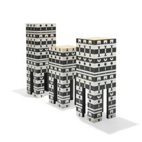 pedestals (from ollo)(set of 3) by alchimia