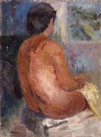 nude from the back by zvi adler