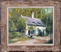 la maison du peintre au rouge-clôitre by alfred théodore joseph bastien