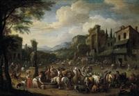 mercato nella toscana by martinus de la court