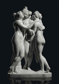 the three graces by antique