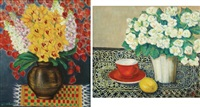 still life (+ another; pair) by torajiro watanabe