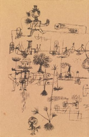 ohne titel untitled by paul klee