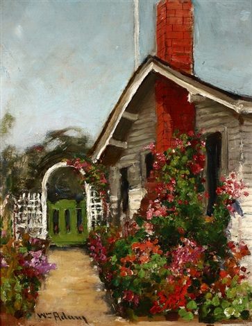 the artists home pacific grove by william adam